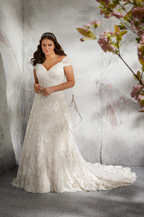 gown from the 2018 Morilee Julietta collection, as seen on Bride.Canada