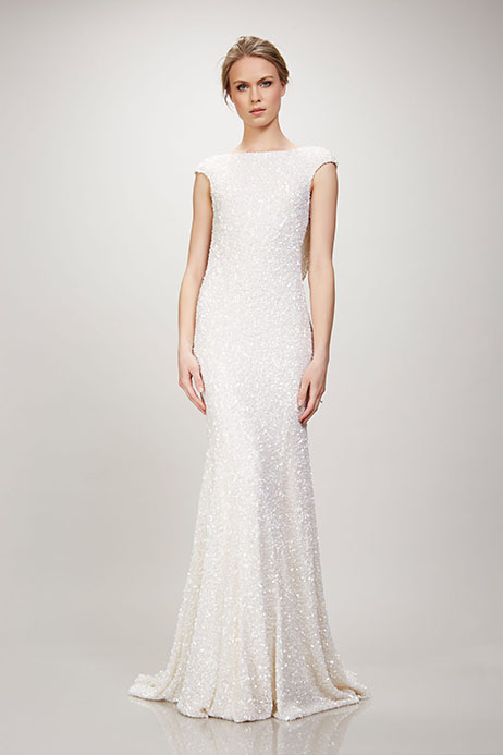 Hayden (890340) gown from the 2018 Theia White Collection collection, as seen on Bride.Canada