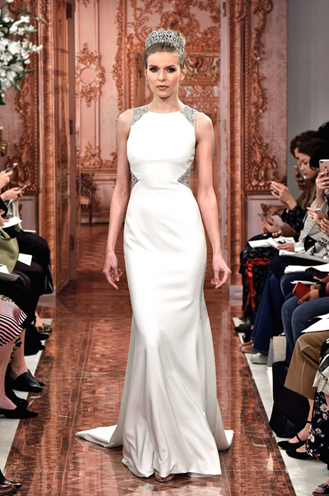 Elizabeth (890569) gown from the 2019 Theia White Collection collection, as seen on Bride.Canada