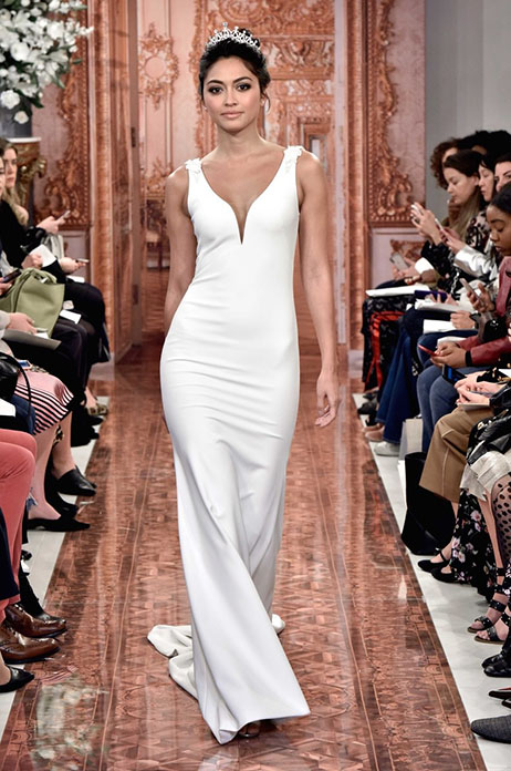 Meghan (890572) gown from the 2019 Theia White Collection collection, as seen on Bride.Canada