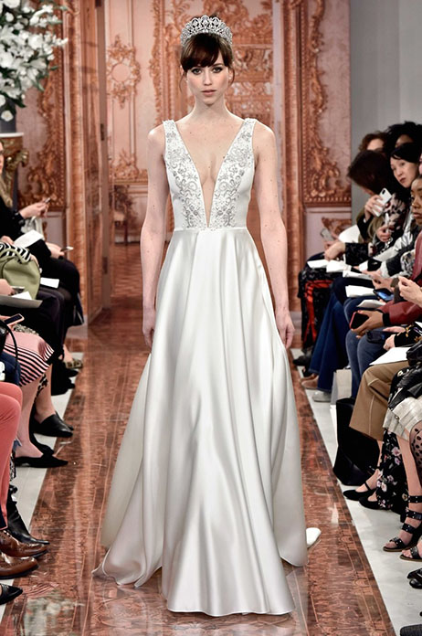 Alexandra (890581) gown from the 2019 Theia White Collection collection, as seen on Bride.Canada
