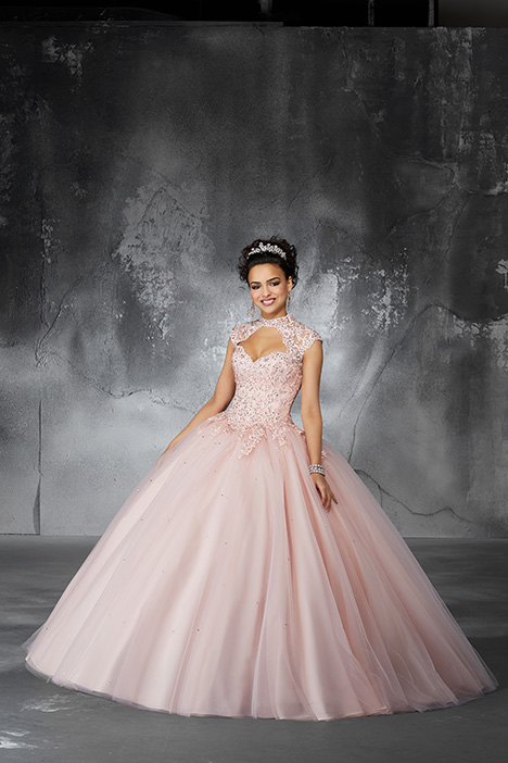60058 (Blush) gown from the 2018 Morilee Valencia collection, as seen on Bride.Canada
