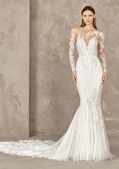 YELIN gown from the 2019 Pronovias Privée collection, as seen on Bride.Canada