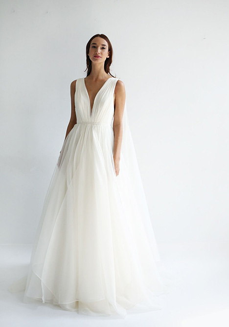 Twyla gown from the 2019 Leanne Marshall collection, as seen on Bride.Canada