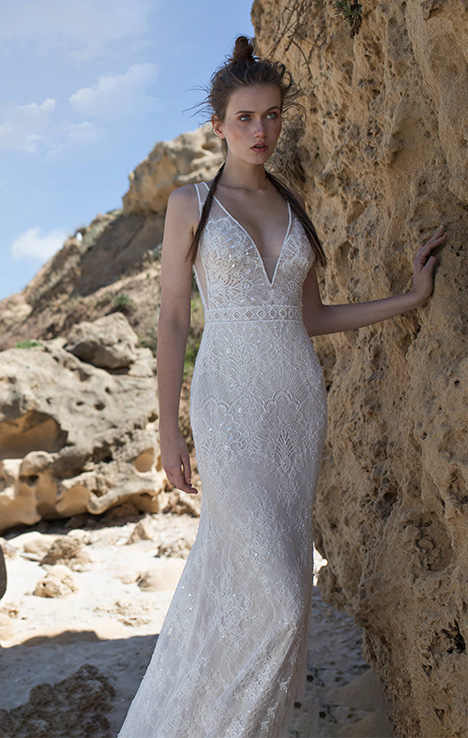 Sierra gown from the 2018 Limor Rosen collection, as seen on Bride.Canada