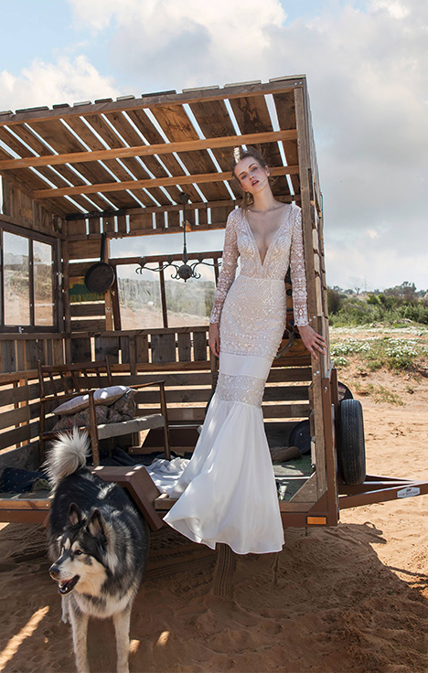 Spencer gown from the 2018 Limor Rosen collection, as seen on Bride.Canada