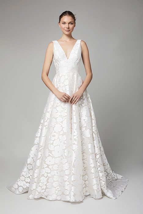 The Kensington gown from the 2018 Lela Rose collection, as seen on Bride.Canada