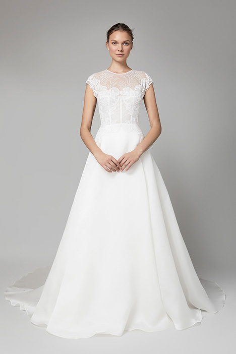 The Verona gown from the 2018 Lela Rose collection, as seen on Bride.Canada