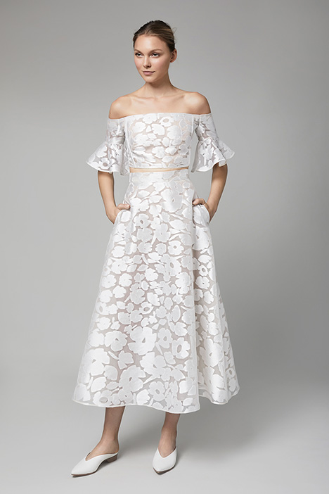 The Hampshire gown from the 2018 Lela Rose collection, as seen on Bride.Canada