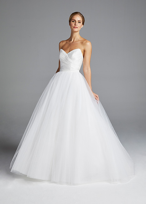 AMAL (skirt) gown from the 2019 Anne Barge collection, as seen on Bride.Canada