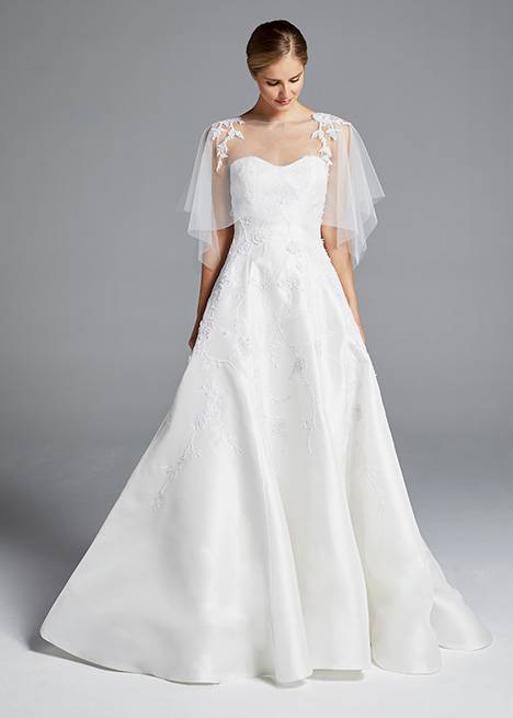 CHLOE gown from the 2019 Anne Barge collection, as seen on Bride.Canada