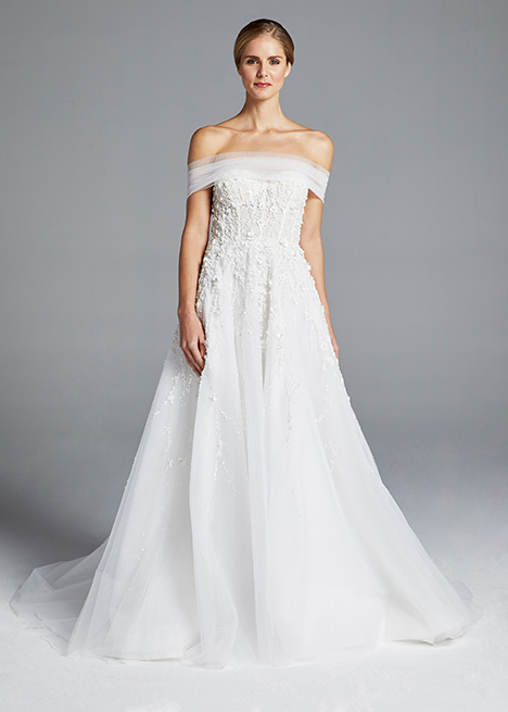 KARLIE gown from the 2019 Anne Barge collection, as seen on Bride.Canada