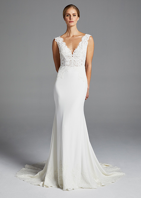 LANA gown from the 2019 Anne Barge collection, as seen on Bride.Canada
