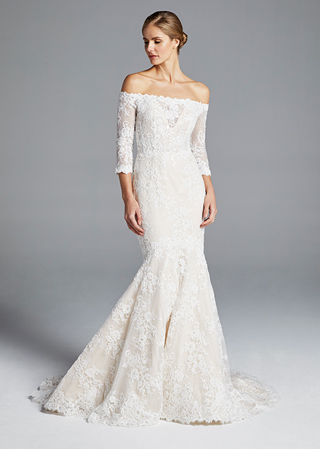 LOREN gown from the 2019 Anne Barge collection, as seen on Bride.Canada