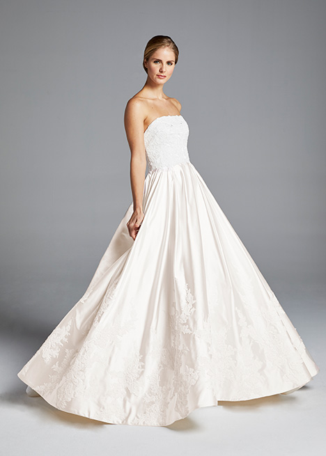 MICHELLE gown from the 2019 Anne Barge collection, as seen on Bride.Canada