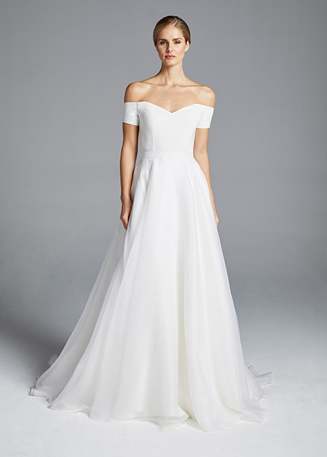 RITA (overskirt) gown from the 2019 Anne Barge collection, as seen on Bride.Canada