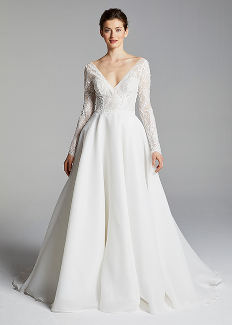 CHRISSY gown from the 2019 Blue Willow by Anne Barge collection, as seen on Bride.Canada