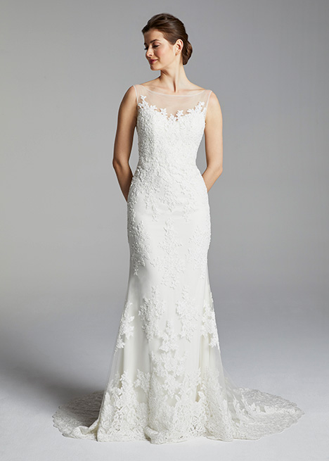MIRREN gown from the 2019 Blue Willow by Anne Barge collection, as seen on Bride.Canada