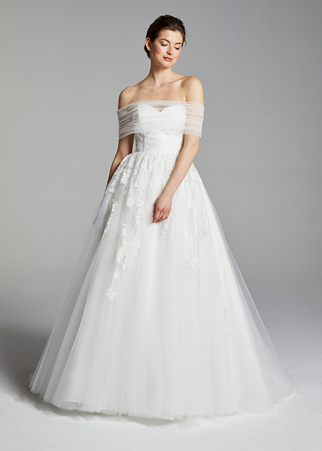 ROSSI gown from the 2019 Blue Willow by Anne Barge collection, as seen on Bride.Canada