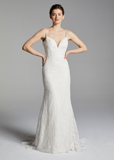 VERONICA gown from the 2019 Blue Willow by Anne Barge collection, as seen on Bride.Canada