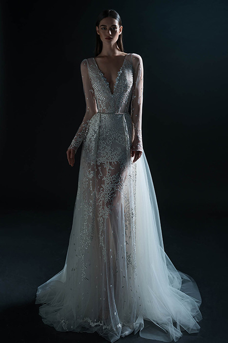 PURE-18-095 gown from the 2018 PURE by Inbal Dror collection, as seen on Bride.Canada