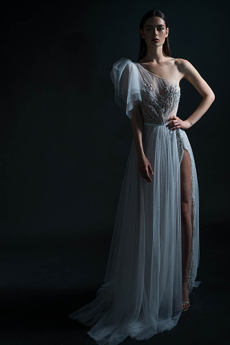 PURE-18-102 gown from the 2018 PURE by Inbal Dror collection, as seen on Bride.Canada