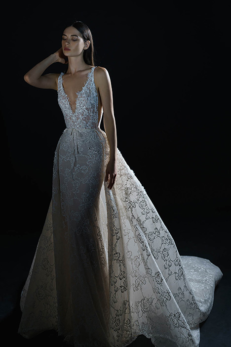 PURE-18-112 gown from the 2018 PURE by Inbal Dror collection, as seen on Bride.Canada