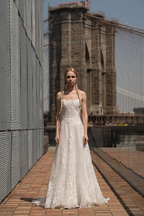Earhart (91903) gown from the 2019 Alyne collection, as seen on Bride.Canada