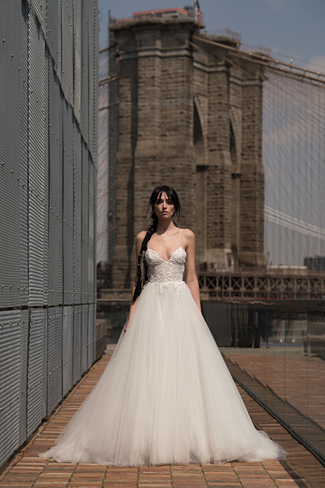 Kahlo (91917) gown from the 2019 Alyne collection, as seen on Bride.Canada