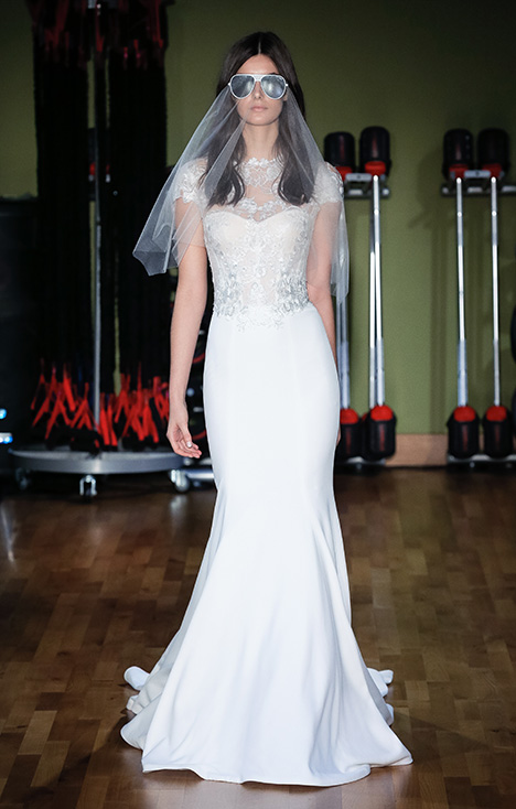 Blair (3907) gown from the 2018 Rivini collection, as seen on Bride.Canada