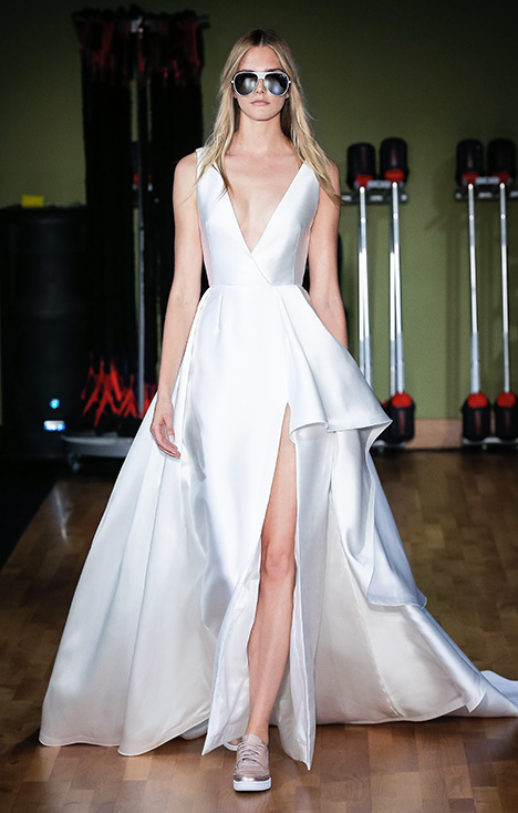 Walsh (3912) gown from the 2018 Rivini collection, as seen on Bride.Canada