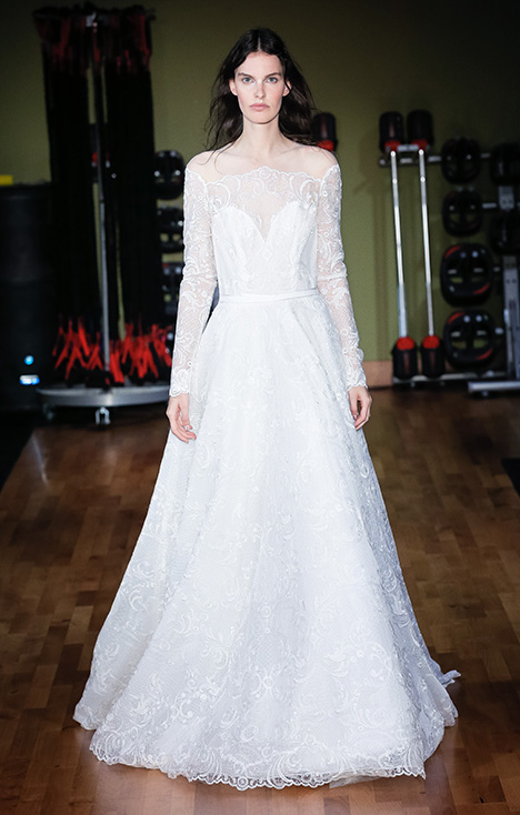 Victoria (3929) gown from the 2018 Rivini collection, as seen on Bride.Canada
