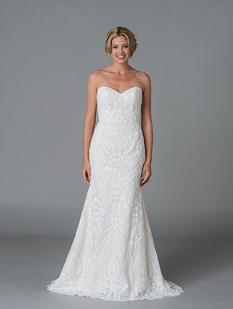 Juno gown from the 2018 Lis Simon collection, as seen on Bride.Canada