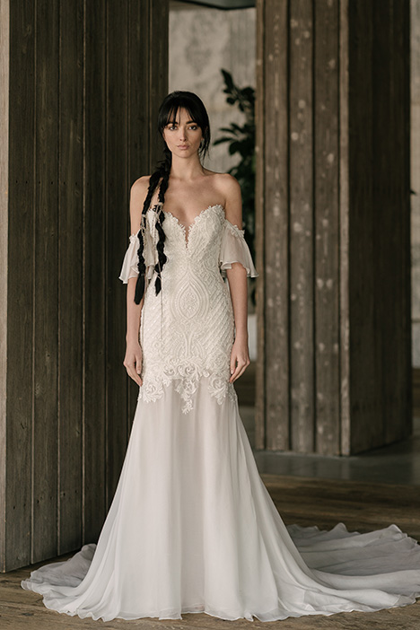 Monroe (4002) gown from the 2019 Rivini collection, as seen on Bride.Canada