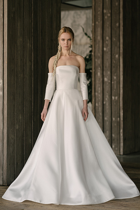 Hepburn (4010) gown from the 2019 Rivini collection, as seen on Bride.Canada