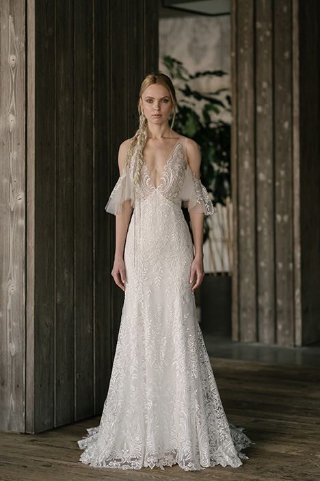 Watson (4027) gown from the 2019 Rivini collection, as seen on Bride.Canada