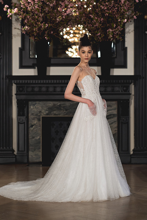 Emily gown from the 2019 Ines Di Santo collection, as seen on Bride.Canada