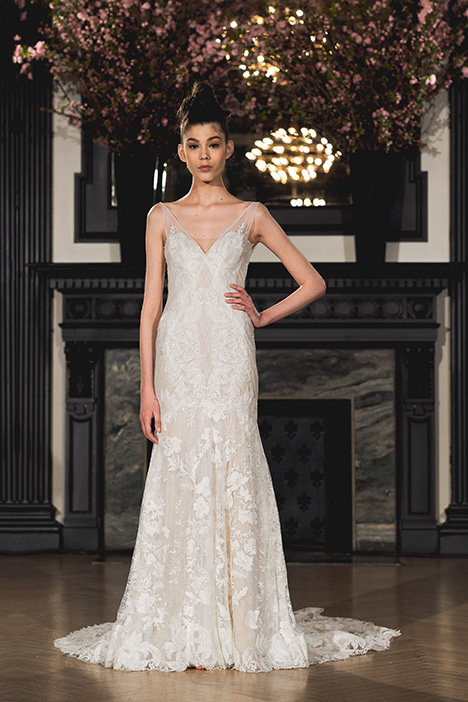 Ann gown from the 2019 Ines Di Santo collection, as seen on Bride.Canada