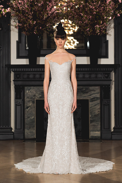 Aubrey gown from the 2019 Ines Di Santo collection, as seen on Bride.Canada