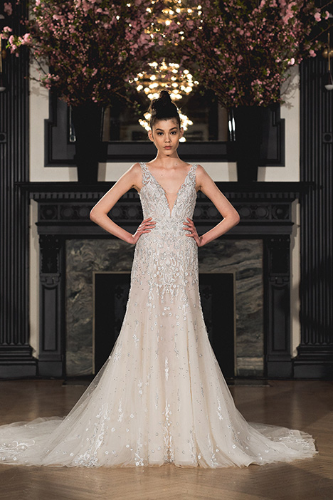 Audree gown from the 2019 Ines Di Santo collection, as seen on Bride.Canada