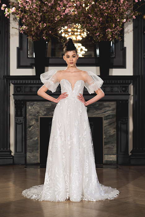 Ella gown from the 2019 Ines Di Santo collection, as seen on Bride.Canada
