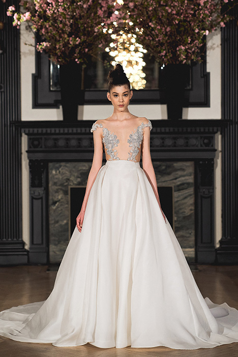 Ellie gown from the 2019 Ines Di Santo collection, as seen on Bride.Canada