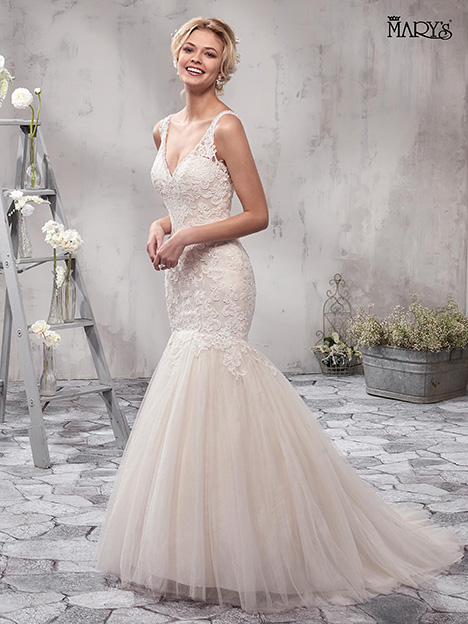 MB3004 gown from the 2018 Mary's Bridal collection, as seen on Bride.Canada