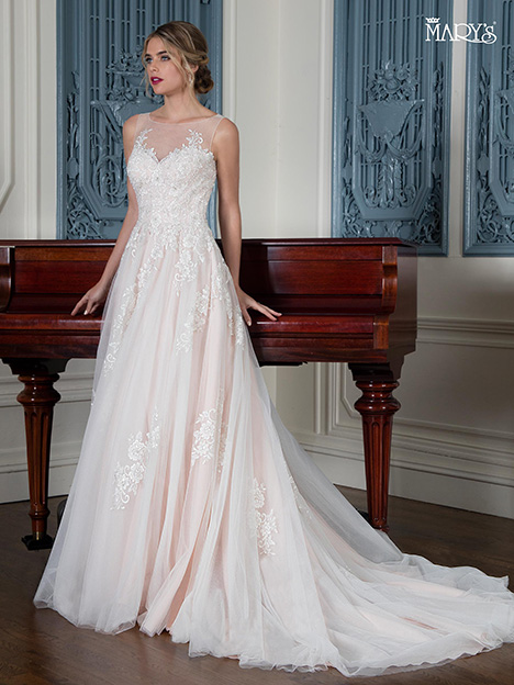 MB3005 gown from the 2018 Mary's Bridal collection, as seen on Bride.Canada