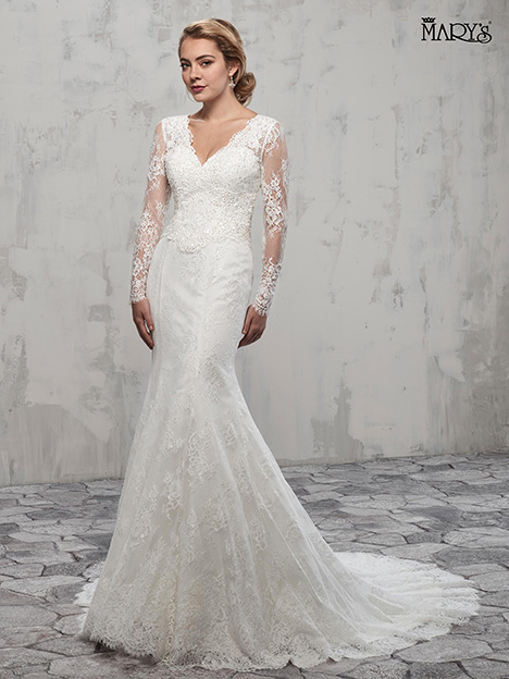 MB3014 gown from the 2018 Mary's Bridal collection, as seen on Bride.Canada
