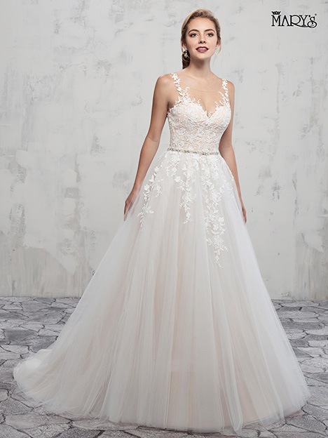 MB3018 gown from the 2018 Mary's Bridal collection, as seen on Bride.Canada