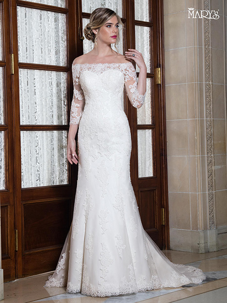 MB3023 gown from the 2018 Mary's Bridal collection, as seen on Bride.Canada