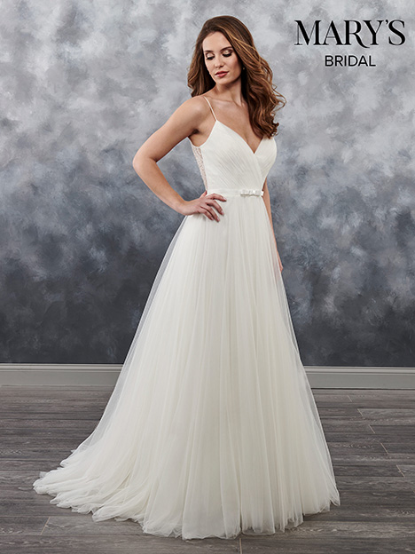 MB1016 gown from the 2018 Mary's Bridal collection, as seen on Bride.Canada