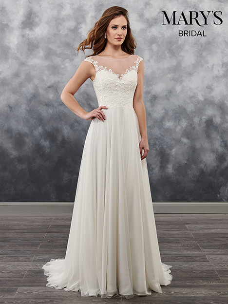MB1022 gown from the 2018 Mary's Bridal collection, as seen on Bride.Canada