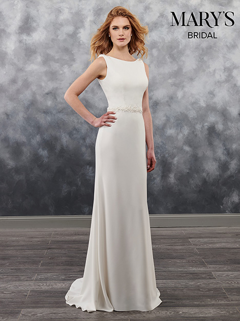 MB1023 gown from the 2018 Mary's Bridal collection, as seen on Bride.Canada